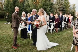 outdoor wedding venue caledon